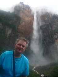 Me at Final Viewpoint (soaking wet), Angel Falls
