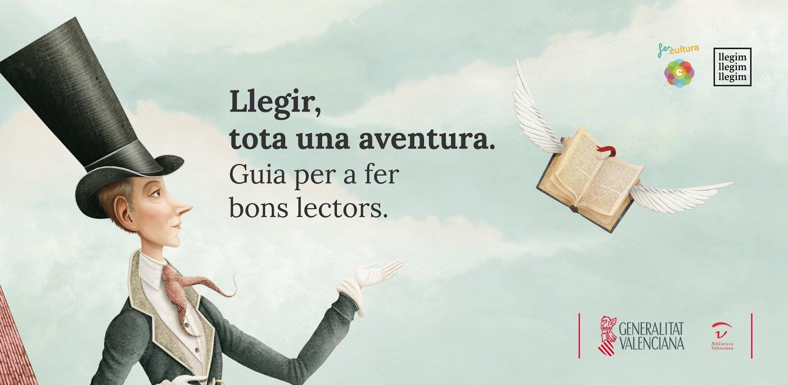 Guia per a fer bons lectors. Generalitat valenciana.