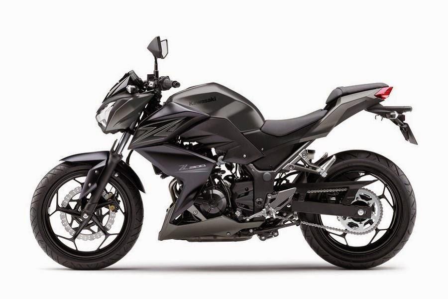 Kawasaki Z300 (2015) Side