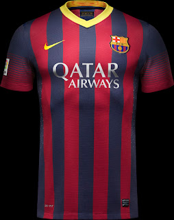 Uniforme Barcelona Home 2013-2014