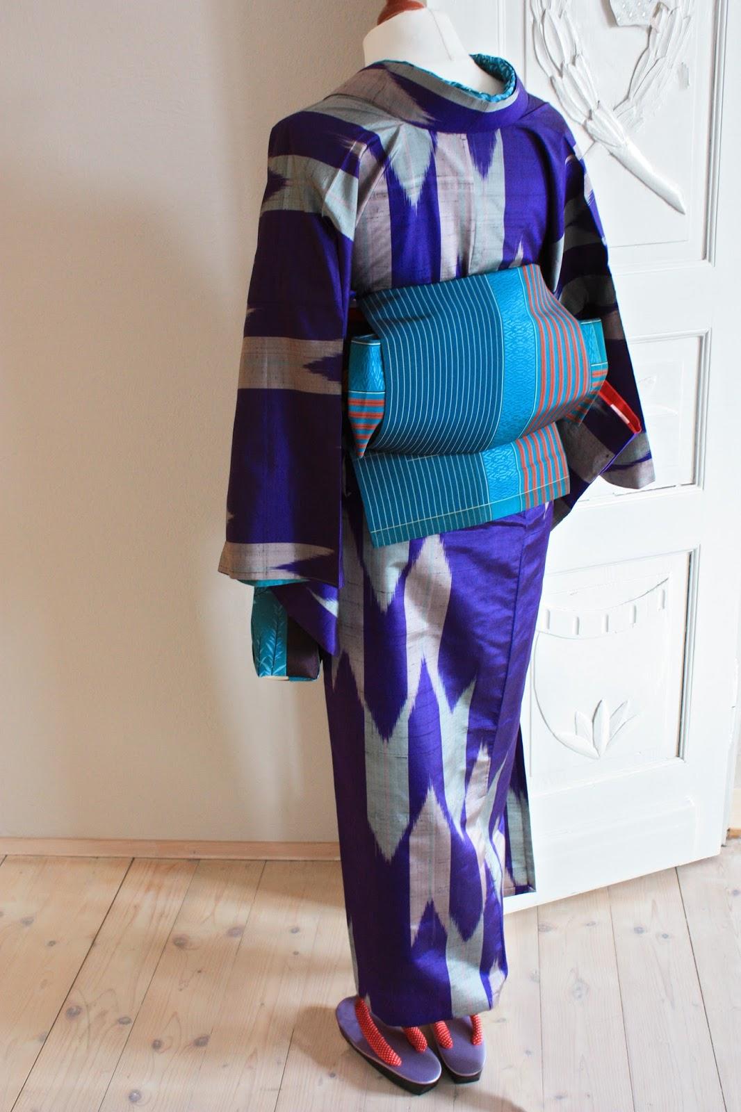 kimono und co: Yabane-Kitsuke