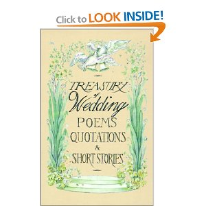 Treasury of Wedding Poems, Quotations, and Short Stories [Hardcover]
