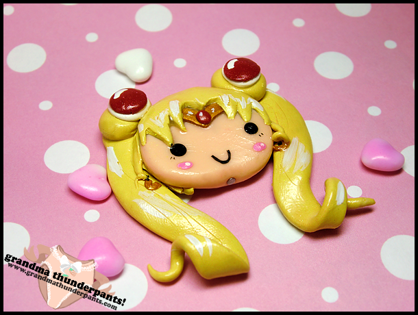 Sailor Moon Charm por GrandmaThunderpants