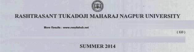 Nagpur University B.Com Commerce Summer 2014 Timetable