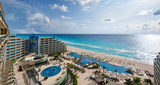 Azul turquesa de cancun hotel hard rock