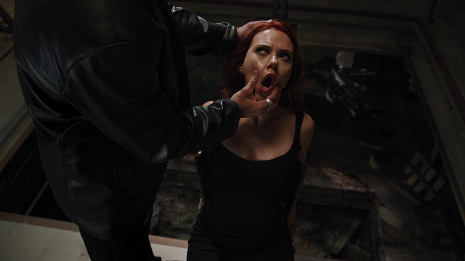 Opinion Scarlett johansson black widow naked your