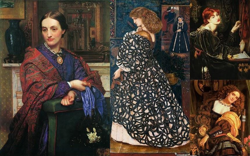 William Holman Hunt e John Millais, formaram a Irmandade dos Pré-Rafaelitas