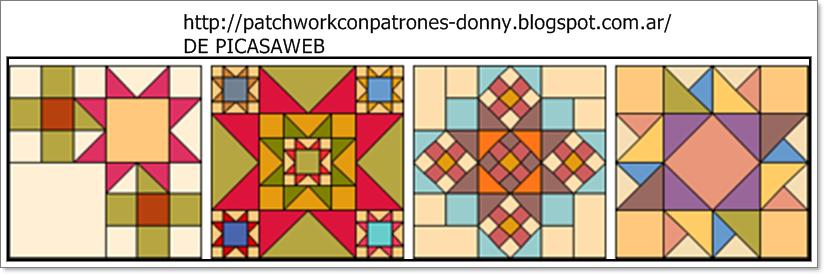 Patchwork solo patrones todo gratis patchwork lindos - Patrones colcha patchwork ...