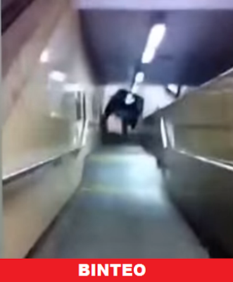 Σοκαριστικό βίντεο με εορτάζονες νεαρούς να κατακρημνούν αυτοκίνητο στις σκάλες του μετρό στις Βρυξέλλες