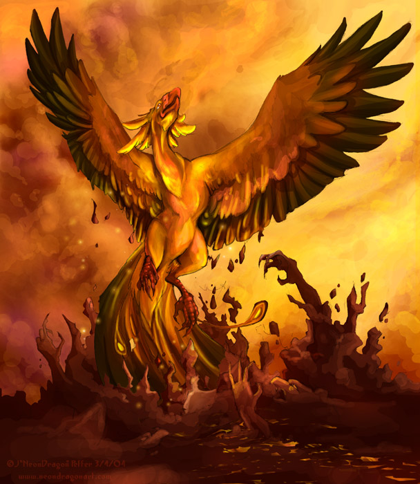 The poet Martial also included the phoenix in his works as a symbol of ...