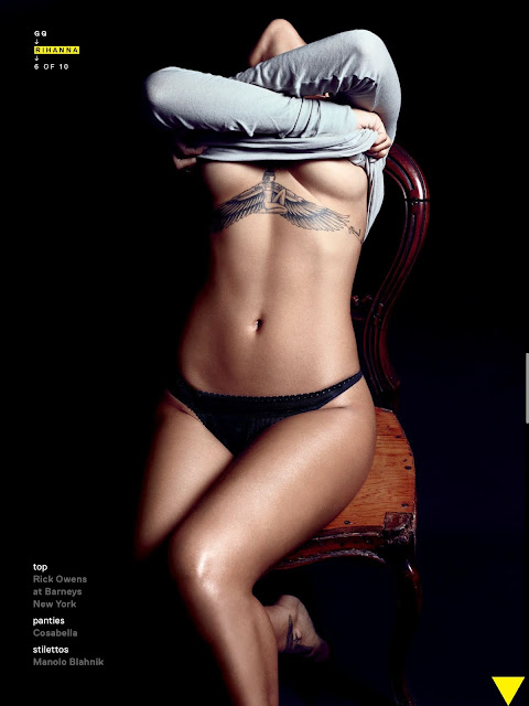 Rihanna – GQ Magazine (December 2012)