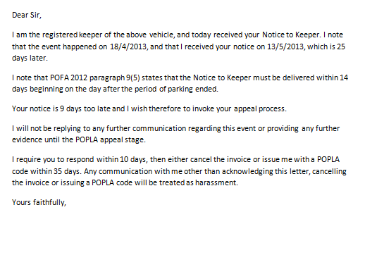 pcn complaint letter There are different ways to challenge a parking ticket, or penalty charge notice, depending on when you received the parking ticket initial challenge - you can make an initial challenge within 14 days of receiving a parking ticket.