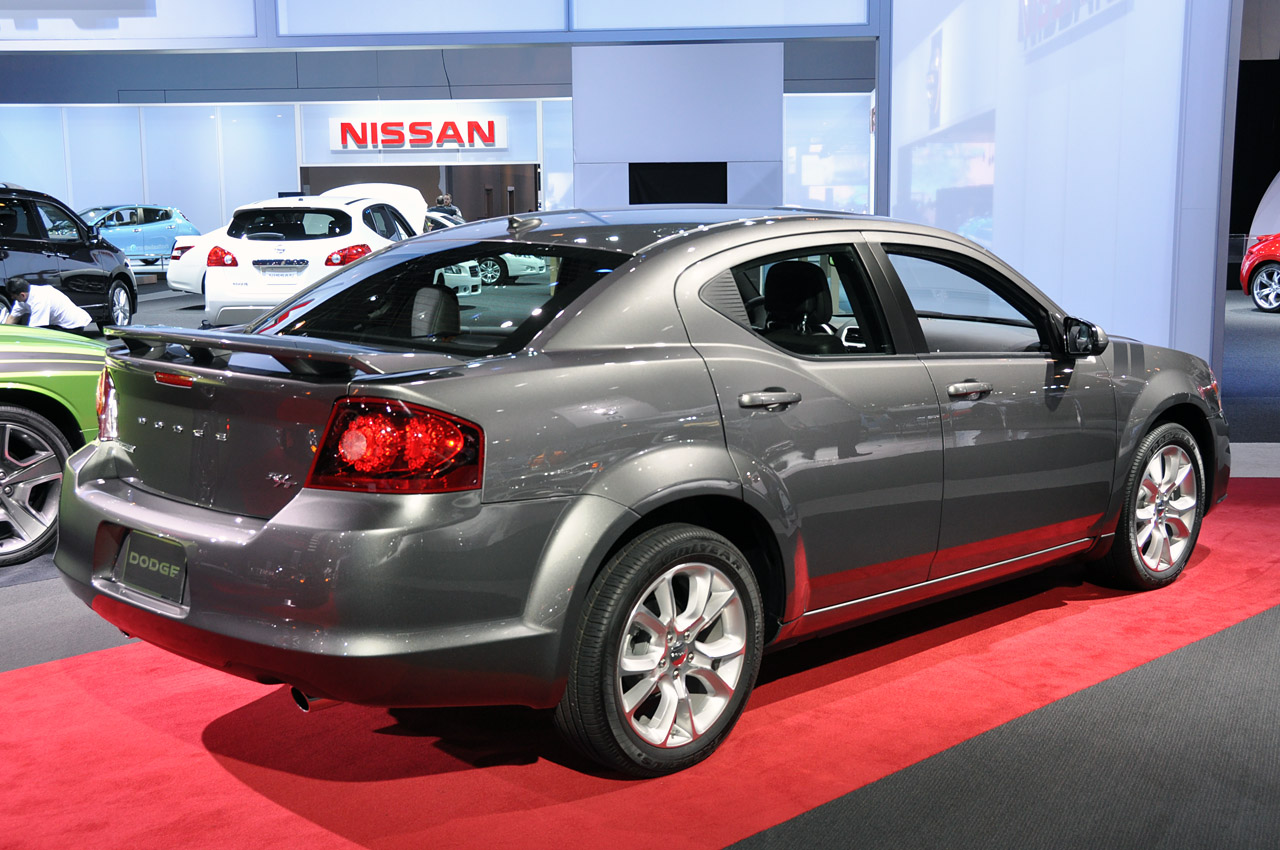Sport Cars 2012 Dodge Avenger Rt Nice Car