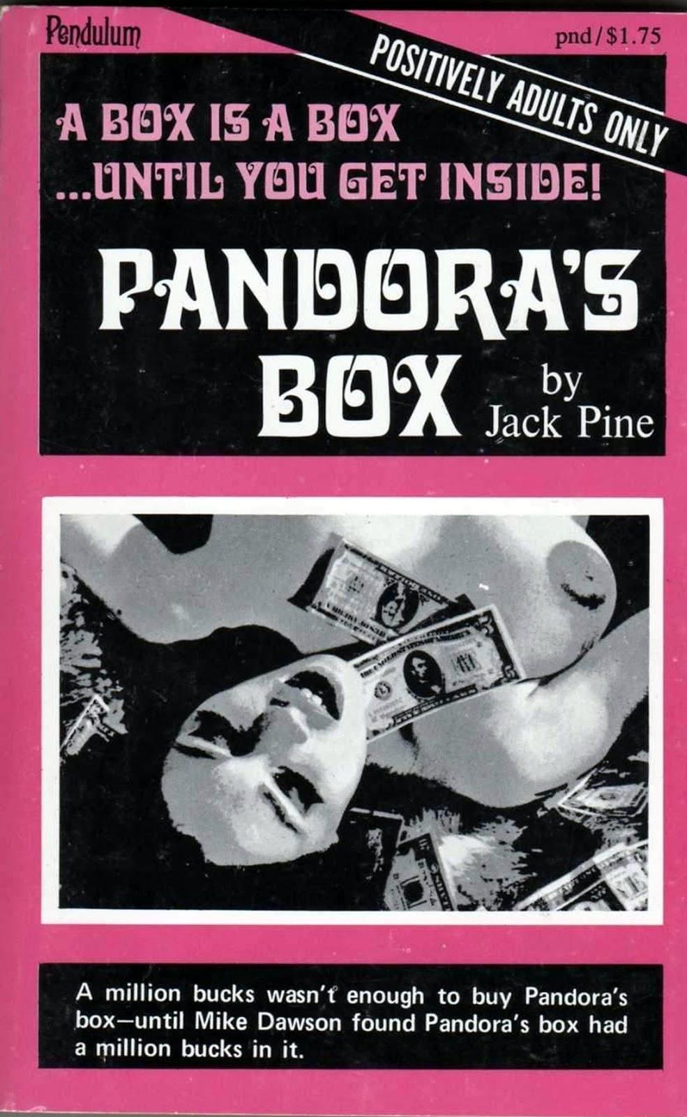 Forgotten Books: Pandora's Box  Jack Pine