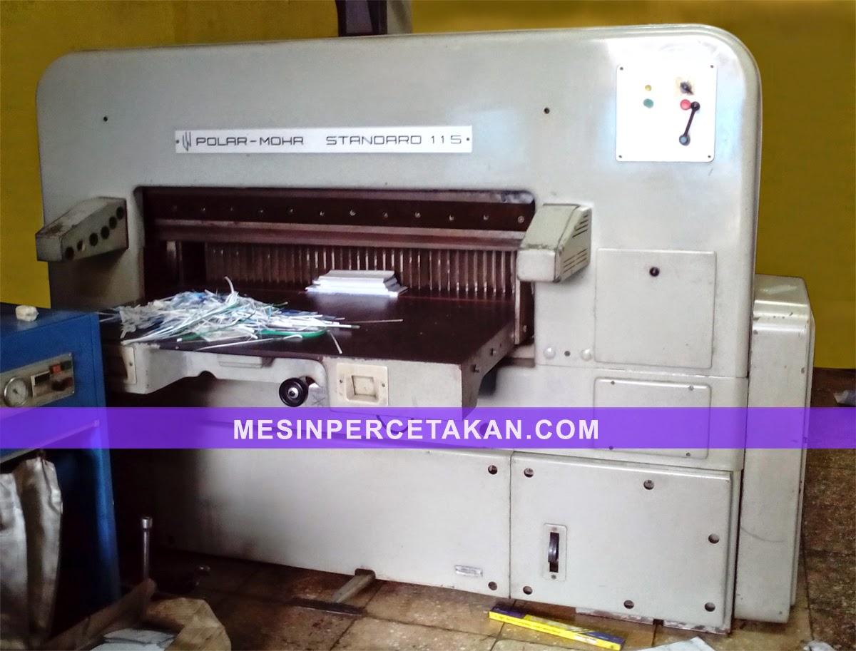 mesin potong kertas POLAR MOHR 115 CM