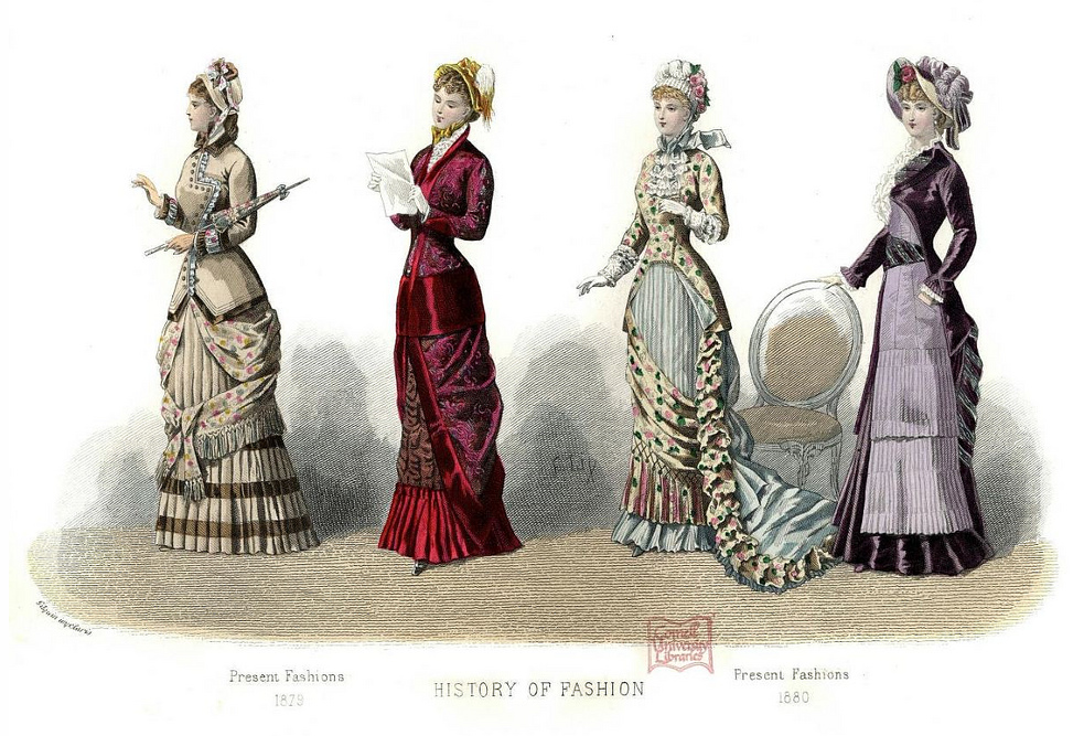 Lulu Central: Fashion through the ages 1700's and 1800's