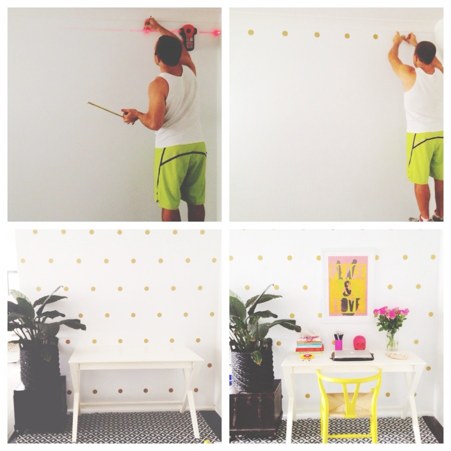 Honey And Fizz Polka Dot Wall Stickers