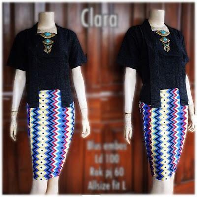 Kebaya Batik Modern Clara KBW 302
