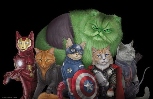 00-Group-Picture-Jenny-Parks-Drawing-Animals-Superhero-Cats-Scientific-Illustrator-www-designstack-co