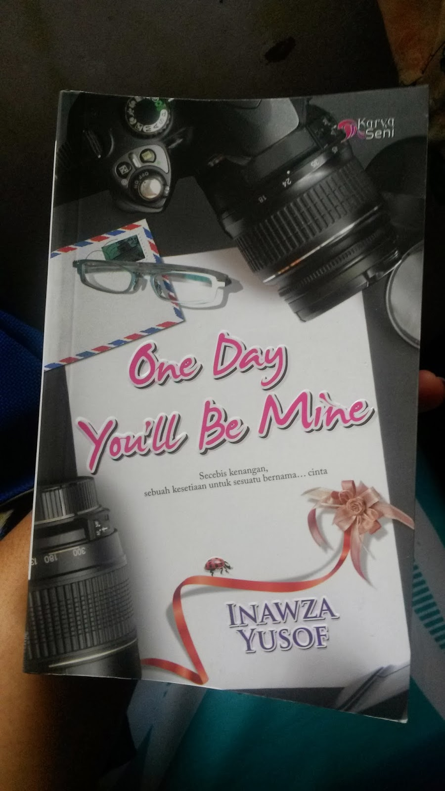 novel one day you'll be mine inawza yusof, inawza yusof blog, karya seni, ODYBM