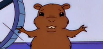 sin duff duffless hamster lisa bart homer space espacio astronaut astronauta nibbles project science Es un hamster más inteligente que mi hermano