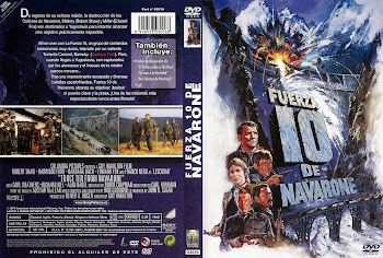 Carátula dvd: Fuerza 10 de Navarone (1978) (Force 10 from Navarone)