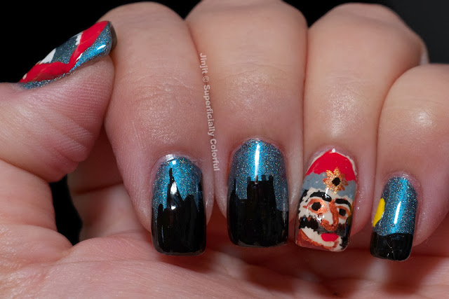 Vlad Tepes (Dracul) and Bran Castle over Dandy Nails Betrayed Desires