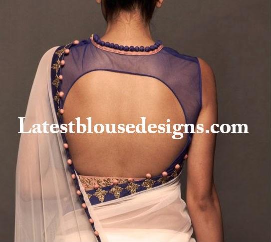 net back blouse