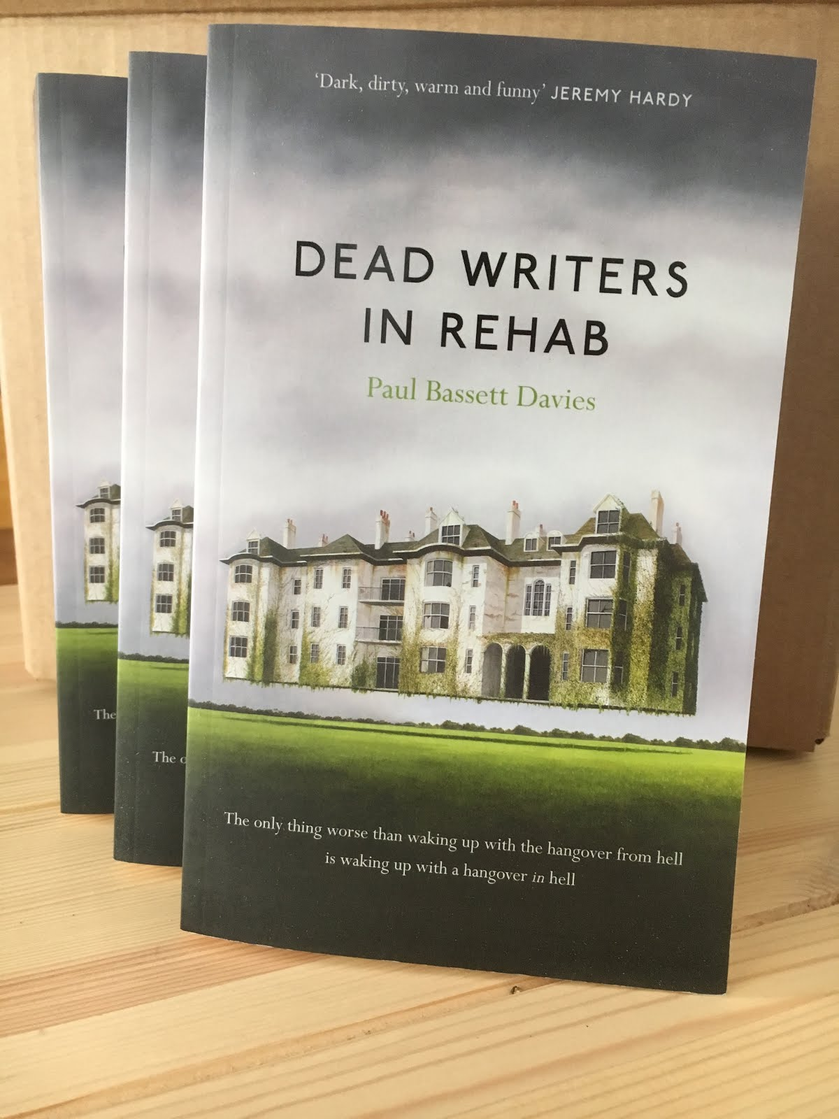 For details and news of my second novel, 'Dead Writers in Rehab', click on the image below: