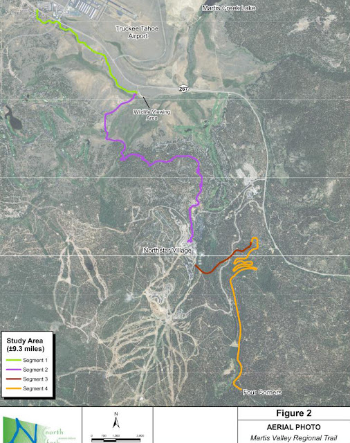 Martis Valley Trail project proposed to connect Truckee with Tahoe City