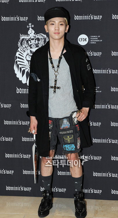 Shinee Key Seoul Fashion Week 130326 -2
