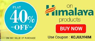 Buy Himalaya baby Products at flat 40% off coupon