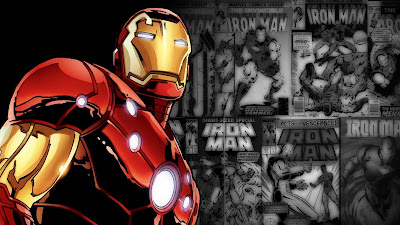 Iron Man Comic Wallpaper Fan Made
