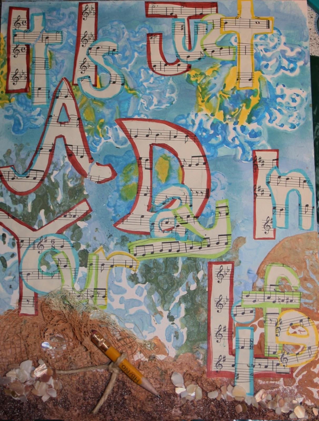 FAIRY ROCKS and THINGS: Free Art Journal Workshop