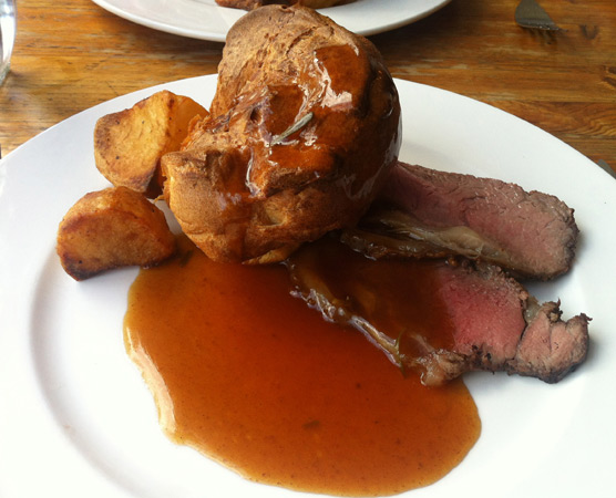Roast Beef Sunday Roast - Lucy's of Ambleside