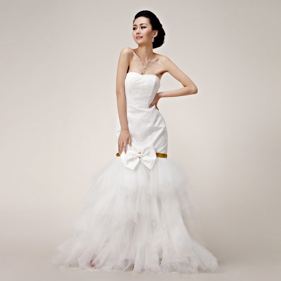 Fishtail Wedding Gowns: TideBuy