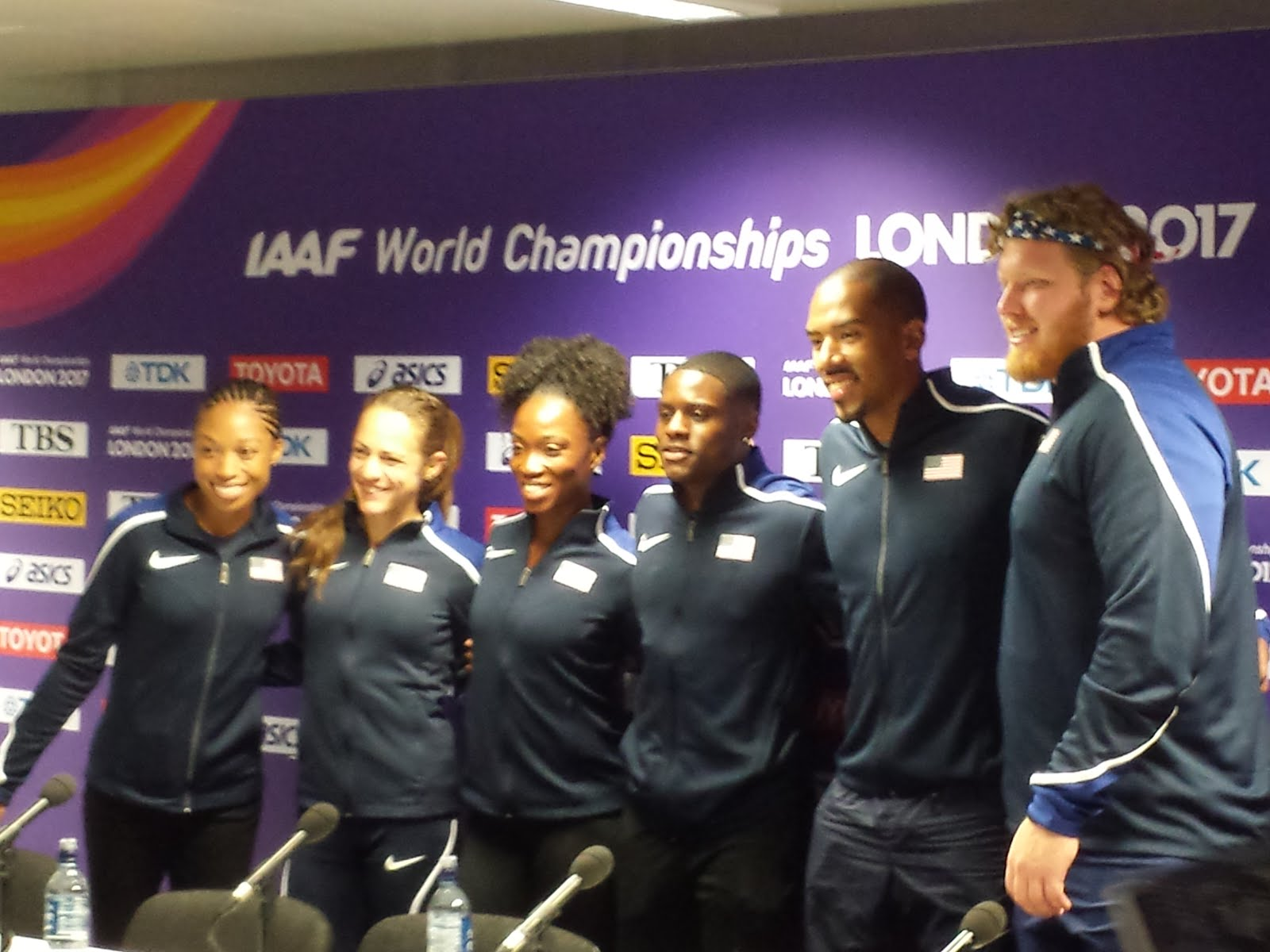 Team USA Press Conference - London