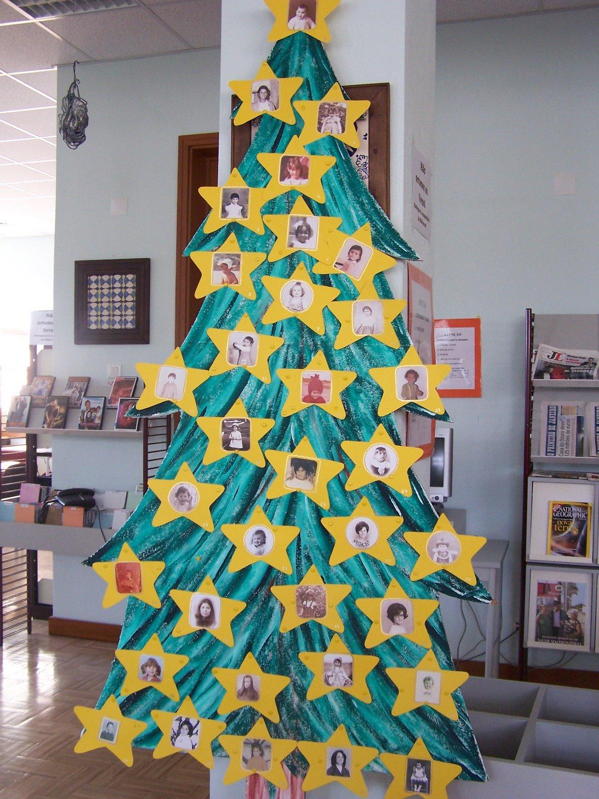 Professora Juce Decoraç u00e3o de Natal para porta da sala de aula # Decoração De Natal Simples Escola