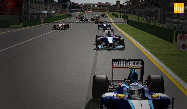 Formula-1 Szentliga, Szentliga, sport, szimulátorbajnokság, BlueBird Racing, F1, Ausztrál Nagydíj,