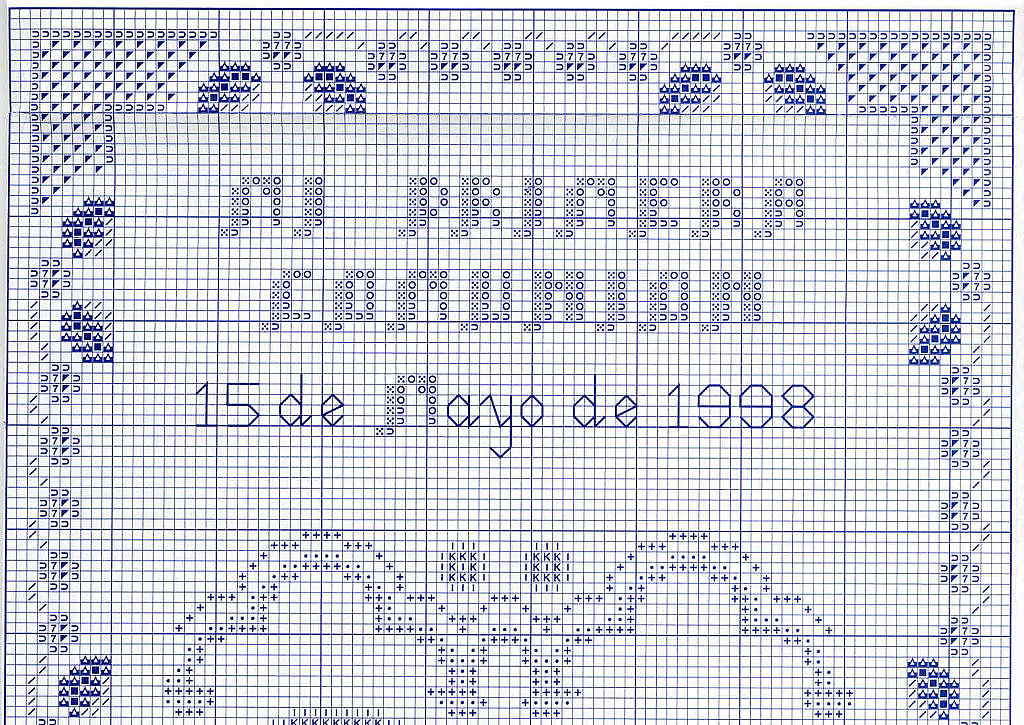 GRAFICOS PUNTO DE CRUZ GRATIS : PRIMERA COMUNION(