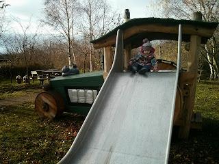 tractor slide