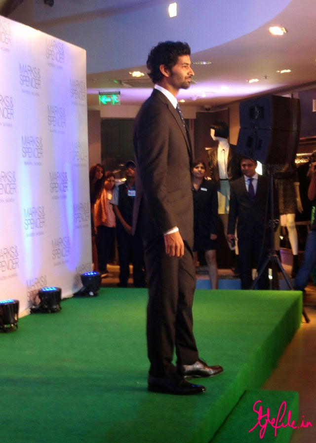 purab kohli, marks and spencer, M&S, fashion, collection, preview, winter