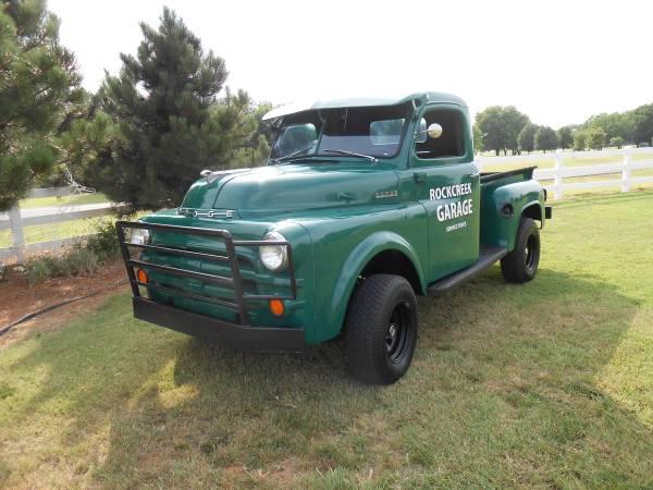 1953 Dodge B Series 4x4 Truck