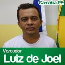Vereador Luiz de Joel