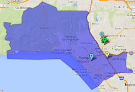 Santa Monica YSA Ward Boundaries