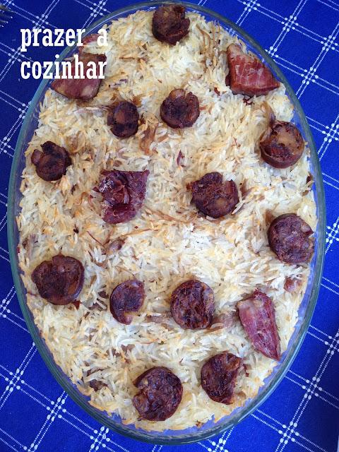 prazer a cozinhar - arroz de pato