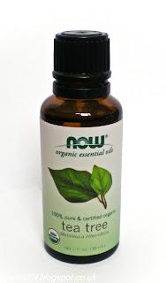 Now Foods tējas koka eļļa