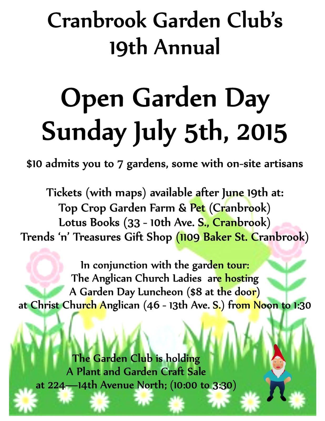 Open Garden Day
