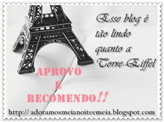 Aprovo e recomendo Award: thanks Lê!