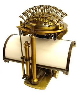 Malling-Hansem typewriter